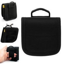 Portable Small Nylon Storage Pouch Bag Carrying Case For 4x 18650 Li-ion Battery(China)