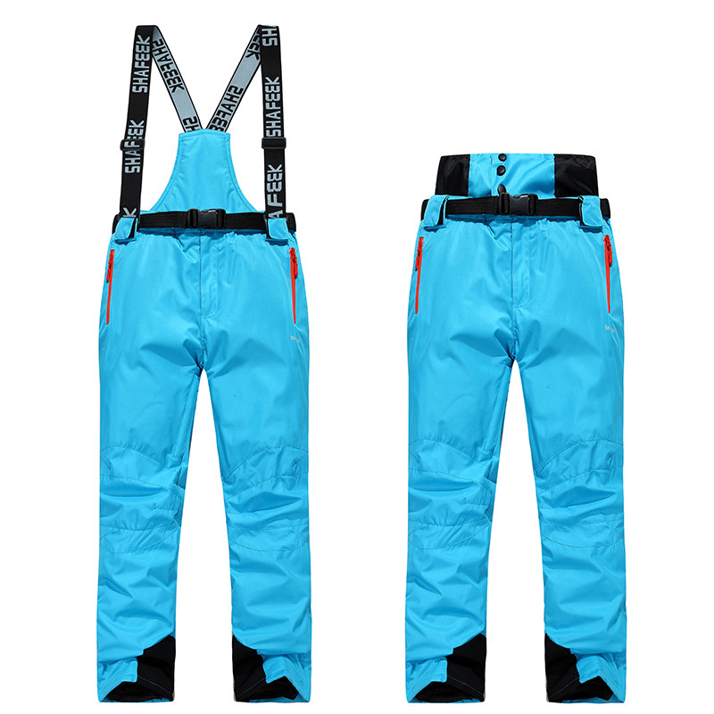 New Ski Pants Men And Women Outdoor High Quality Windproof Waterproof Warm Couple Snow Trousers Winter Ski Snowboard Pants
