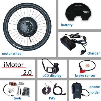 Kit de conversión de Bicicleta eléctrica de 36V iMotor 2,0 rueda de...