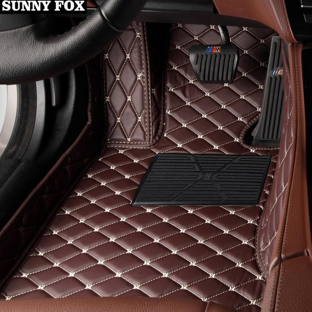 9 Colors Floor Mats for BMW 7 Series 750Li //760Li 2005-2008 All Weather Carpets