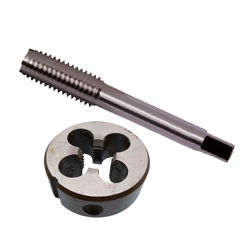 Metric Right Hand Die Threading Tools,M22 x 1.25mm,1pc