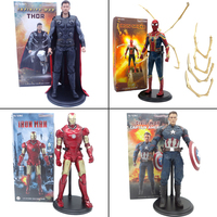 30cm Movie Avengers 4 Endgame Infinity Civil War Toys Thor Captain America Iron Man Iron Spider Man Action Figure Toy