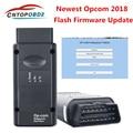 OP COM V1.99 1,95 новинка, Микропрограмма opcom 2018 PIC18F458 FTDI FT232RL чип для Opel автомобиля до тех пор, пока 2018 OBD2 диагностический сканер штрих-кода может под...