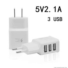 Dual USB Charger 2a Fast Charging Wall Charger Adapter EU US Plug Mobile Phone Usb Charger For iphone ipad mini Samsung Xiaomi(China)