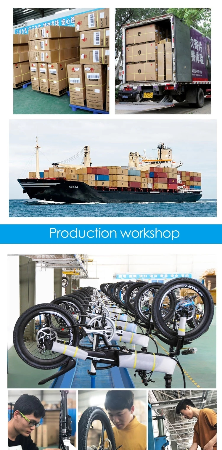 """20""""Electric Bicycle Folding e Bikes for Adults 400W Motor Ebike with Removable Waterproof Large Capacity 48V 10.4A Lithium Battery"""