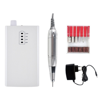 ABVP Rechargeable Electric Nail Drill Portable Manicure Machine Nail File Nail Drill Machine Kit