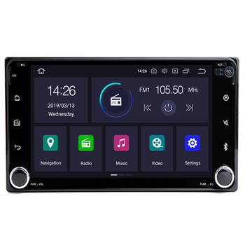 Autoradio 2 din Android10 Car DVD Multimedia Player For Toyota Land cruise 100 200 prado120 150 RAV4 COROLLA Camry yaris Hilux image