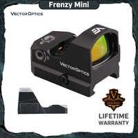 Sistema ótico do vetor frenesi 1x17x24 red dot scope pistola mira ipx6 à prova de água ajuste 21mm picatinny glock 17 19 9mm ar15 m4 ak