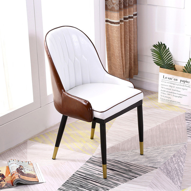 Nordic Dining Chair Home Stool Simple Modern Makeup Backrest Backrest Ins Net Red Chair Desk Chair 4