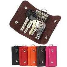 Мужские кошельки для автомобильных ключей из искусственной кожи
