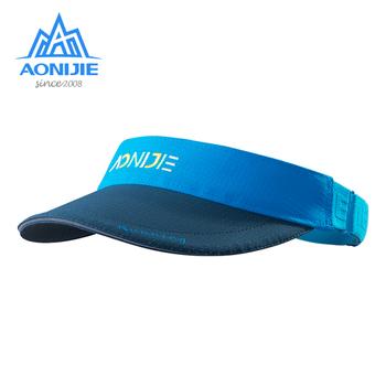 AONIJIE dziecięca osłona przeciwsłoneczna czapka sportowa regulowany kapelusz na lato Outdoor szybkoschnący oddychający na Camping piesze wycieczki Trail Running tanie i dobre opinie CN (pochodzenie) Chłopcy Pasuje prawda na wymiar weź swój normalny rozmiar E4606 Szybkie suche NYLON Blue Yellow Pink
