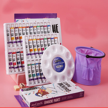 Акварельные Краски большой емкости 12 мл гуашь краски набор для детей для рисования ручная роспись инструменты для начинающих краски для рисования