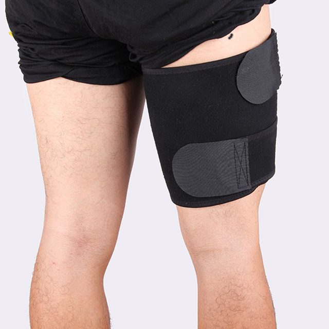 Beauty Leg Shaper Compression Leggings Legs Thermo Neoprene Compress Leg Belt Sweating Slimming Thigh Belts Slimming Burning Fat 1