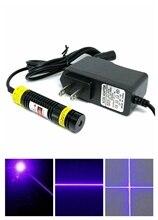 16 мм диаметр фокусируемый фиолетовый синий лазер свет 405 нм 100 мВт точка% 2FLine% 2FCross лазер модуль 5V выравнивание инструменты