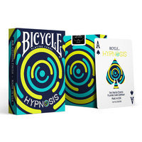 Bicycle Hypnosis Playing Cards Cardistry Deck USPCC Limited Edition Poker Magic Card Games Magic Tricks Props for Magician