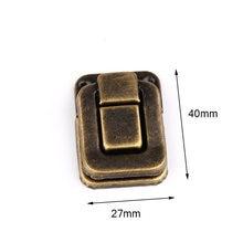 4 шт 27*40 мм защелки для чемоданов античная деревянная Пряжка