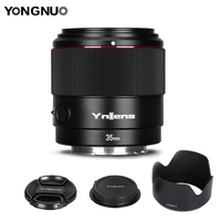 Yongnuo-lente de câmera yn35mm, f2s, df, dsm, abertura grande, af, 35mm, f2, sony, e-mount, estrutura completa, a7ii, a7m3, a7s3, a4, a9, a7riii
