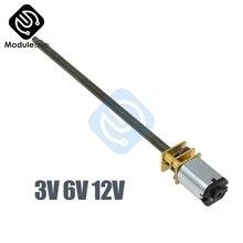 GA12-N20-M4* 100 DC 3 в 6 в 12 В 30 60 100 150 200 300 400 об/мин микро-скорость редуктор мотор с металлической коробкой передач колеса