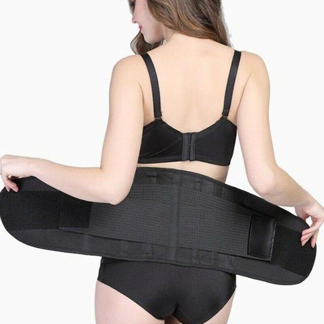 Sport Waist Trainer Weight Loss Men&Women Sweat Sauna Thermo Wrap Belt Body Shaper Gym Compression Fat Burner For Droshipping US 4