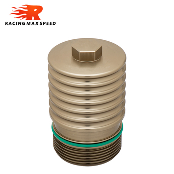 Aluminium filtr oleju silnikowego chłodzenia powłoki obudowa dla BMW N20 N26 N52 N54 N55 B48 B58 EA888 tanie i dobre opinie CN (pochodzenie) Aluminum Alloy oil filter housing