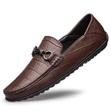 Men Loafers Shoes Luxury Genuine Leather Casual Sneakers Mal
