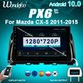 магнитола 2 DIN Android 10 Автомагнитолы радио PX6 для Mazda CX5 2012-2015 CX-5 CX 5 стерео Авто Аудио навигационный экран bluetooth Мультимедиа Автомагнитола