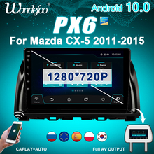 2 DIN Android 10 Auto RADIO PX6 Für Mazda CX5 2012-2015 CX-5 CX 5 auto stereo auto audio navigation bildschirm bluetooth multimedia