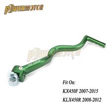 цены на New Forged Kick Start Starter Lever Pedal Arm For KX450F 2007-2015 KLX450R 2008-2012 Dirt Bike Off Road Motocross Motorcycle  в интернет-магазинах