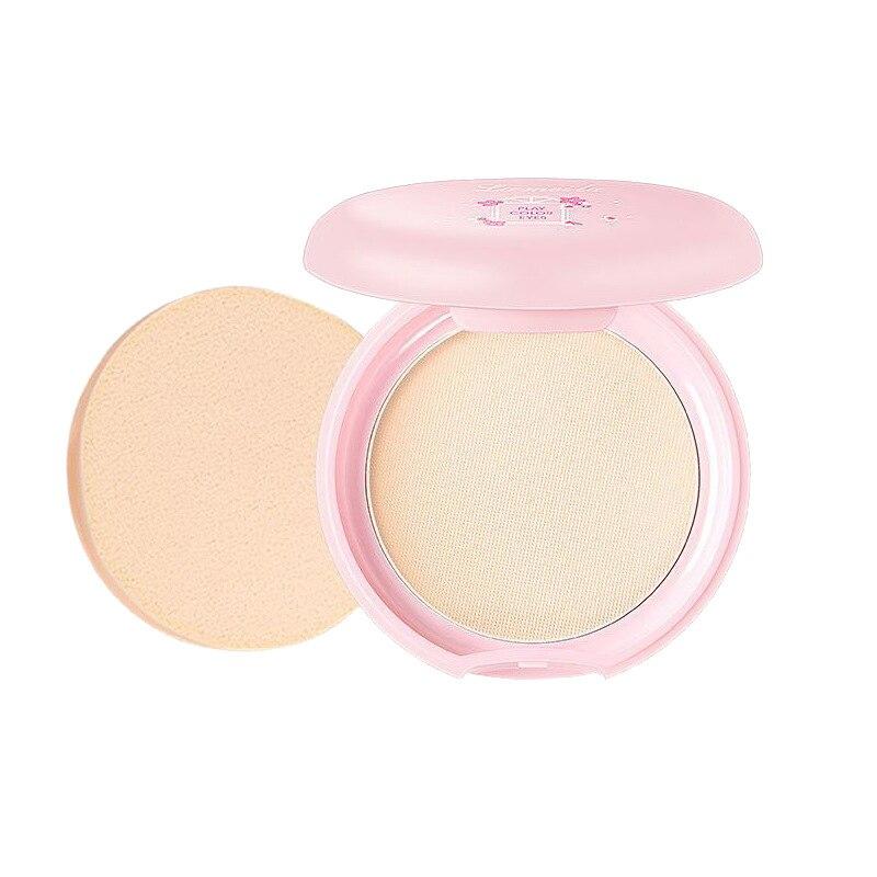 Pressed Powder Long-Lasting Oil Control Loose Powder Wet And Dry Dual Purpose Concealer Natural Nude Makeup Facial Cosmetics
