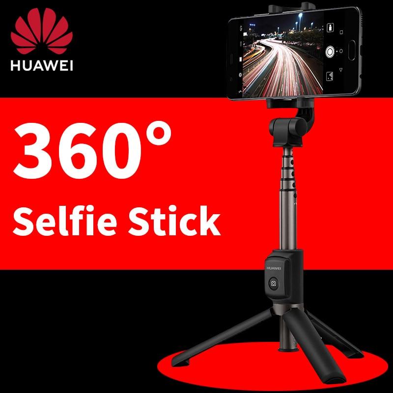 Штатив для селфи Huawei, Телескопический монопод с беспроводным управлением, Bluetooth, для iPhone, Android, Samsug, Honor