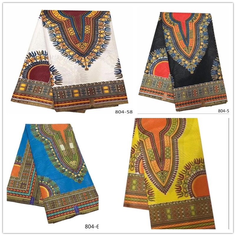100% Cotton Fabric New Design African Wax Fabric For Wedding Dress Ankara African Wax Print Fabric Evening Party Dresses Arabian