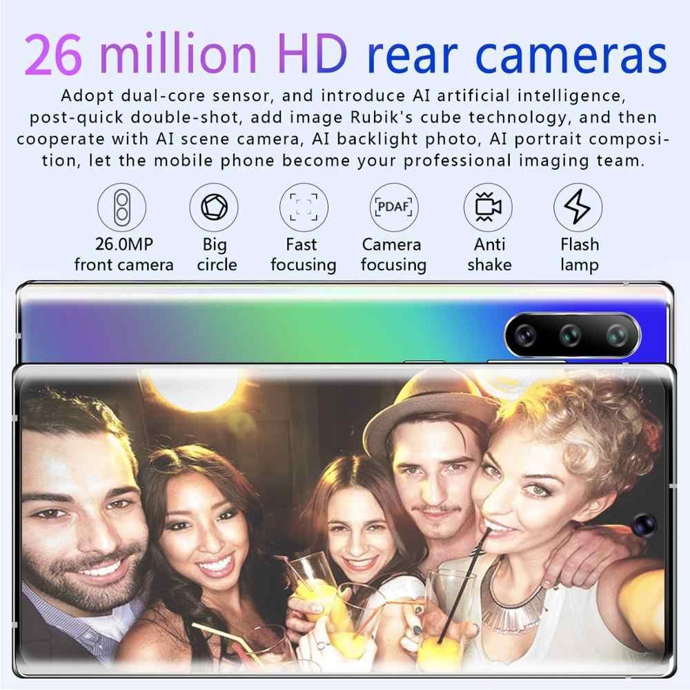 Глобальная версия, оригинал, Android, смартфон, 6,8 дюймов, мобильный телефон, две sim-карты, камера, 3g, 4G, мобильный смартфон, разблокировка лица