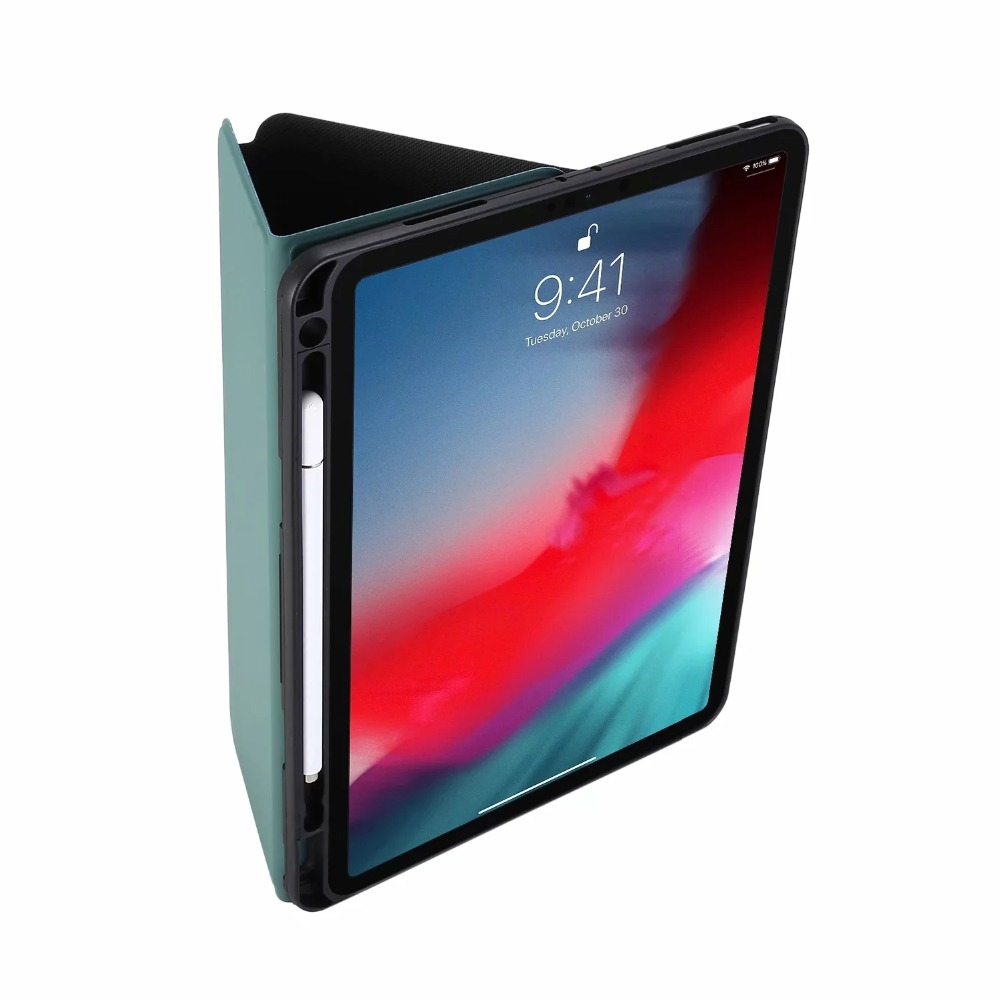 Cover iPadpro 2018 Case for Shell 2020 Tablet Leather Thin Slot Case A2301 2021 pro11 TPU Pro 11 Pencil A2228 Flip Stand PU iPad