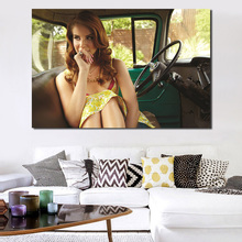 Lanaor Del Rey Hot Wall Art Canvas Posters Prints Painting Oil Wall Pictures Living Room Home Decoration Accessories Artwork HD pop art alec monopoly hd canvas painting print living room home decoration modern wall art oil painting posters pictures artwork