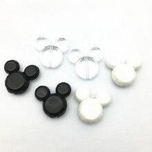 (Wählen farbe) 50 Teile/los 35x25mm chunky Maus Kopf perlen für chunky Schmuck halskette