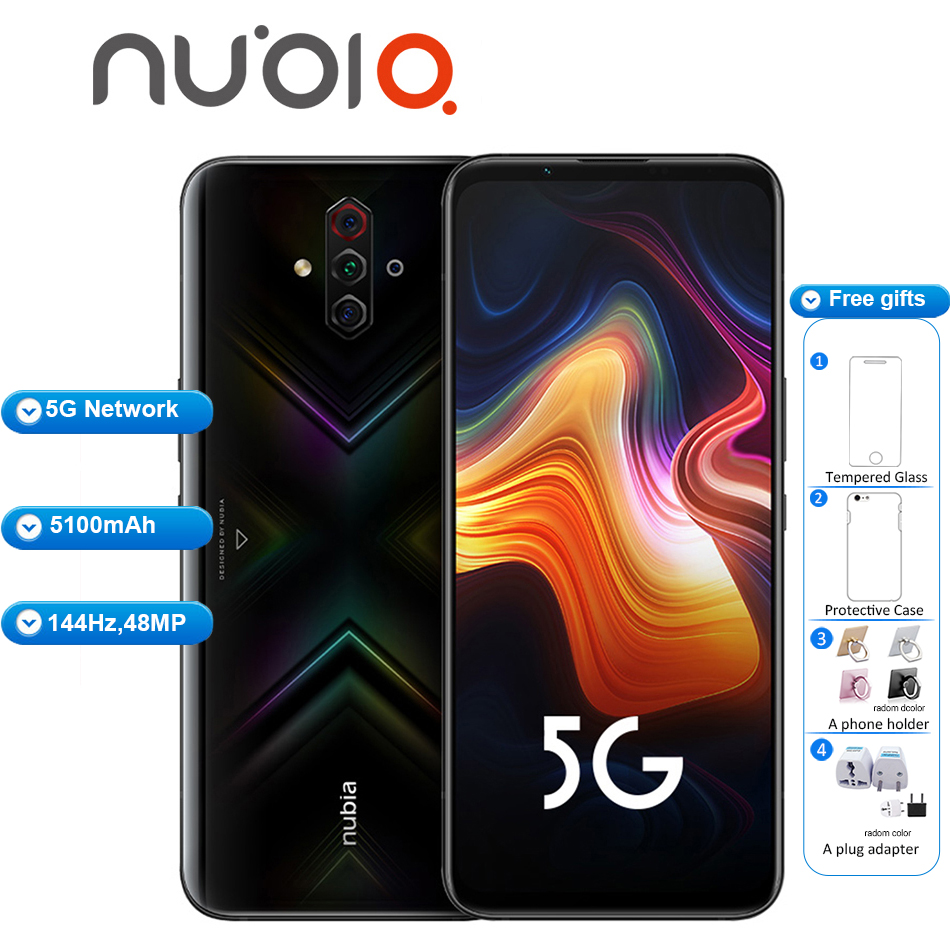 Brand New Original ZTE Nubia Play 5G Mobile Phone 6.65