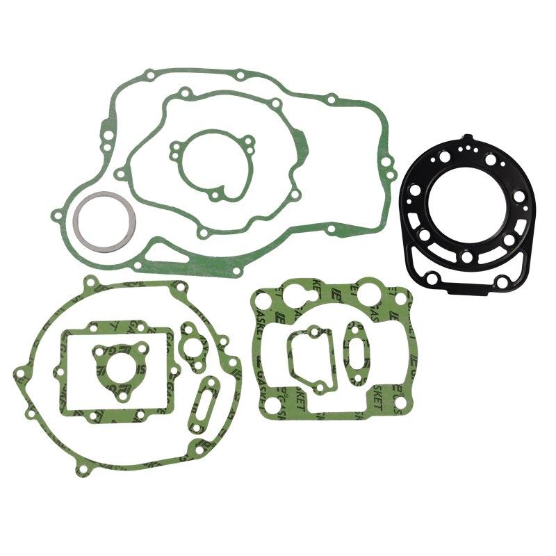 Zestaw uszczelek motocyklowych Generator skrzynia korbowa pokrywa sprzęgła zestawy uszczelek cylindrów dla Kawasaki KDX250 KDX 250 1991-1994