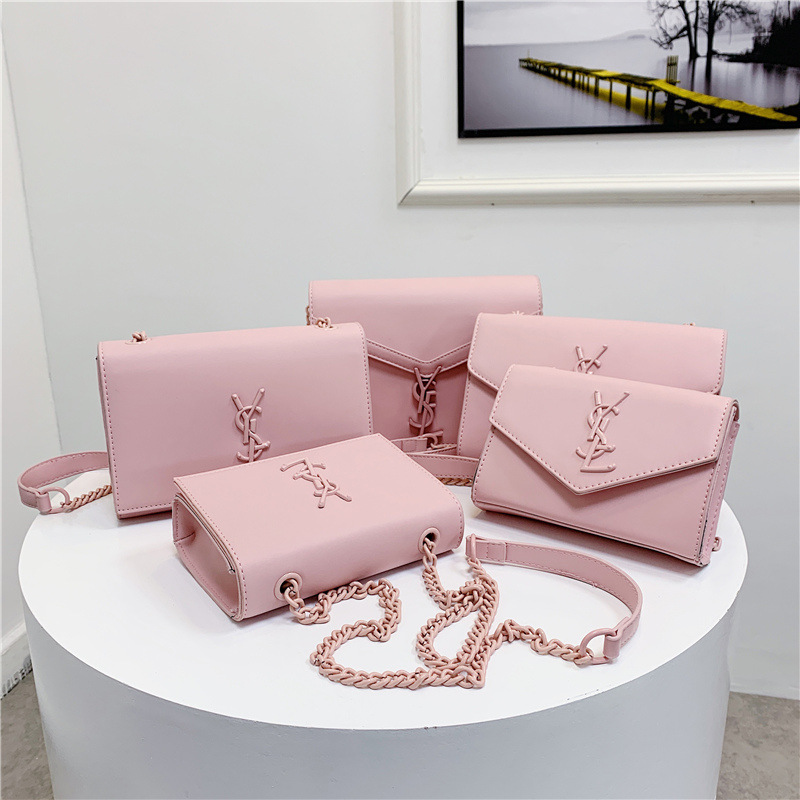 Shoulder Bag 2020 New Style Simple Fairy Chain Shoulder Bag Elegant Square Sling Bag