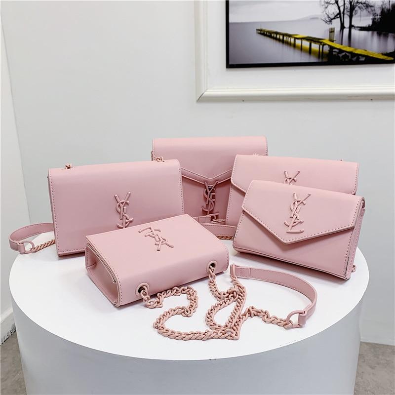 Shoulder Bag 2020 New Style Simple Fairy Chain Shoulder Bag Elegant Square Sling Bag