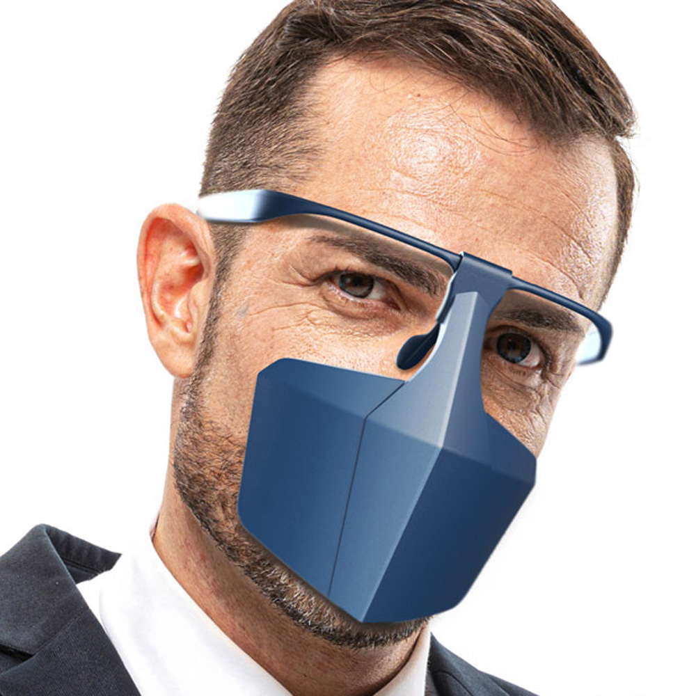 Anti-fog Splash-proof Dust-proof Face-protective Cover Anti Saliva Reusable