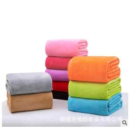 Super Soft Blanket Flannel Aircraft Sofa Use Office Children Blanket Towel Travel Fleece Mesh Portable Car Travel Cover Blanket