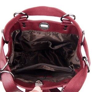 Image 4 - LANYIBAIGE נשים תרמיל תרמילי עור באיכות גבוהה עבור נערות נשי בית ספר כתף תיק Bagpack המוצ ילה plecak