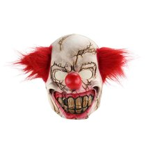 Mask Creepy Scary Cosplay Party for Adults Horror-Prop Halloween-Supplies Costume