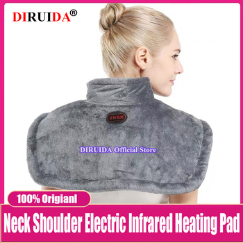 Far Infrared Electric Neck and Shoulder Heating Pad moxibustionhot  Vest Heated Shawl Warm Winter Hot Compress Neck Cervical pad