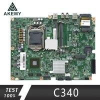Für Lenovo C340 C440 AIO Motherboard 90004956 LGA1155 Mainboard 100% getestet voll arbeiten|Motherboards|   -