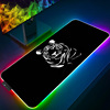 Tiger LED Light Gaming Mouse Pad RGB XXL Large Computer Mousepad Gamer Carpet Waterproof Mause Pads Desk Play Mat with Backlit