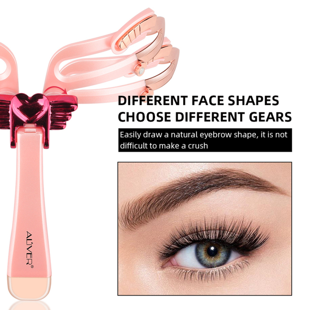 New Eyebrow Stencil Shaper Eye Brow Makeup Model Template Eyebrows Card Styling Tools Reusable Adjustable Dropshipping TSLM1 3