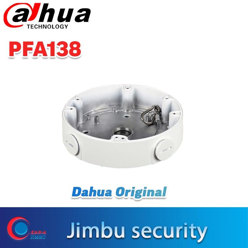 Dahua DH-PFA138 montagem da câmera à prova de água caixa de junção compatível tipo corpo câmera dome ip DH-IPC-HDBW5421E-Z hdcvi câmera 2220