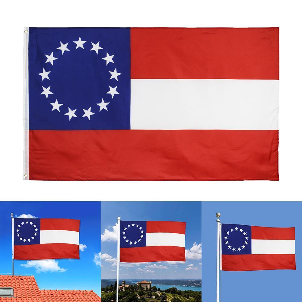 Us Usa State Mississippi New <font><b>Flag</b></font> <font><b>90x150cm</b></font> E9G8 image