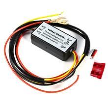 Carro conduziu a luz de circulação diurna automática de ligar/desligar módulo controlador kits relé drl à prova dwaterproof água